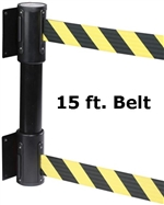 Wall Mount TWIN Double Belt 15' ft.