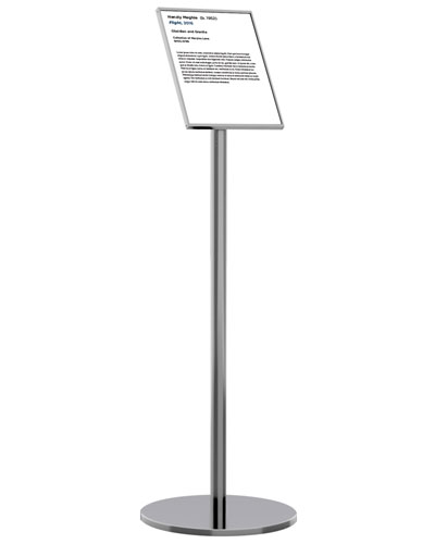 q-cord sign stand