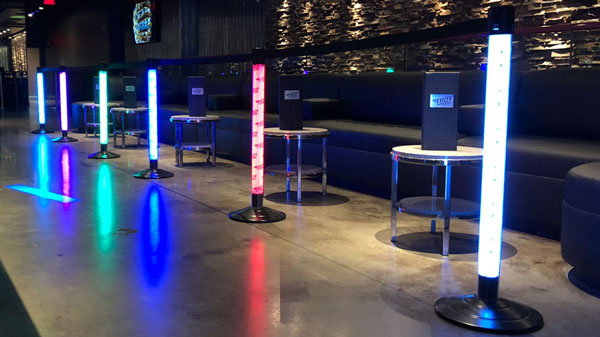 LED Lighted Stanchions