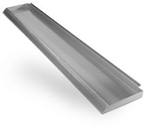 Slatwall Metal Shelf Small