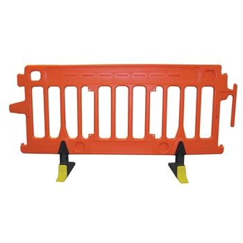 Avalon Crowd Control Plastic Barricade Orange No Sheeting
