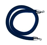 Navy Blue Velvet Rope