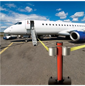 Extra Long Belt Barrier Jettrac 65 ft.